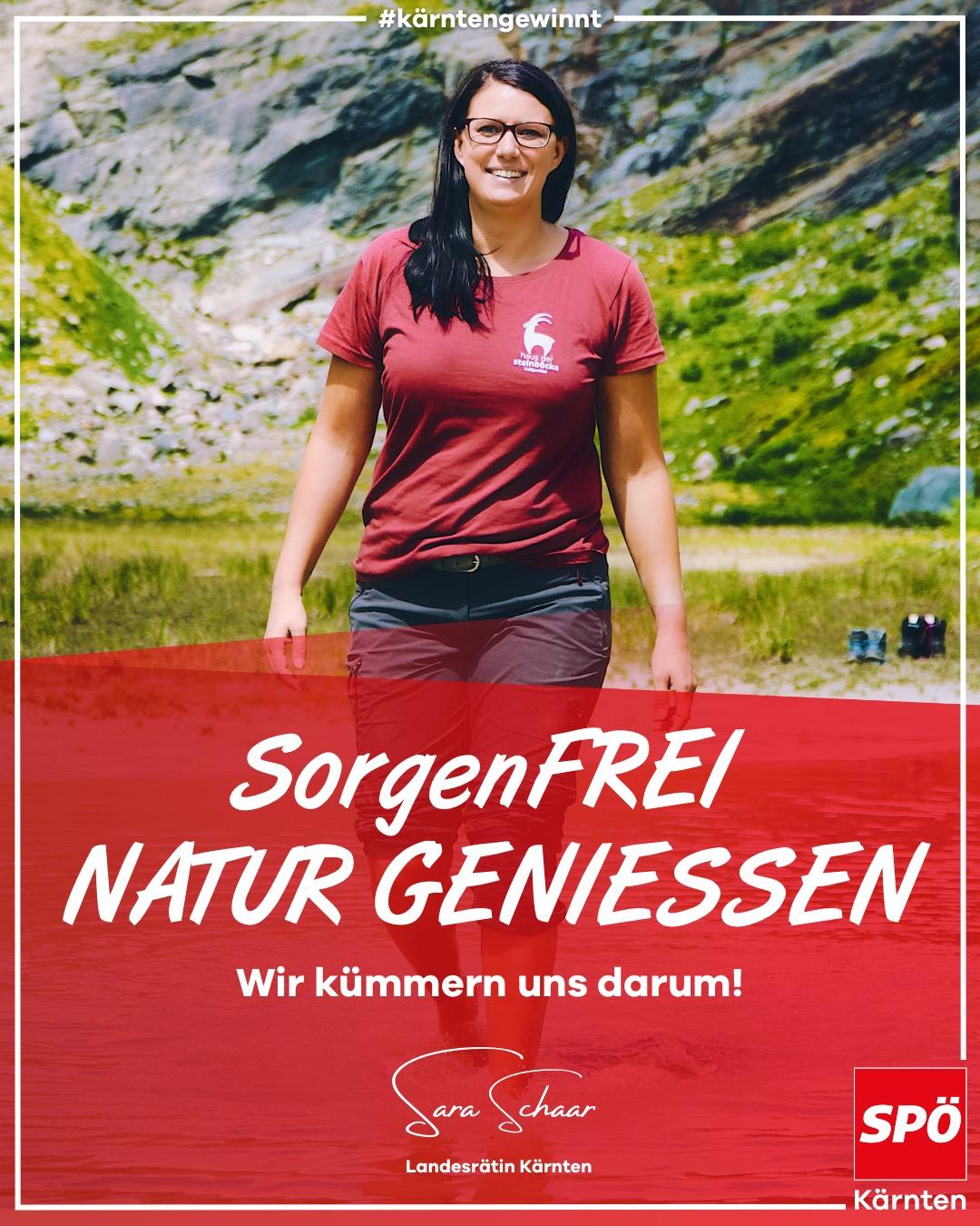 Sorgenfrei Natur geniessen - Sara Schaar